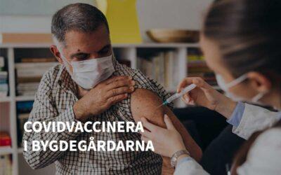 Använd våra bygdegårdar för Covid-19 vaccineringen