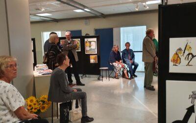 Kaxig utställning med satirtecknare på Sörmlands museum 4 – 25 september